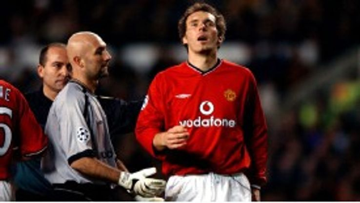 Barthez and Blanc won trophies together for United as well as France
