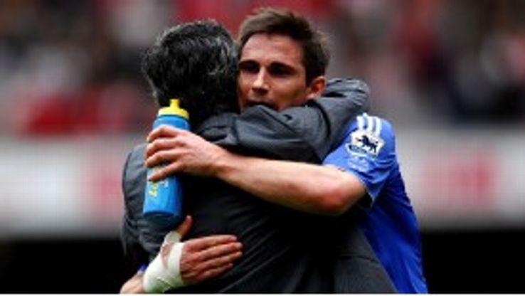 Frank Lampard enjoyed great success under Jose Mourinho at Chelsea