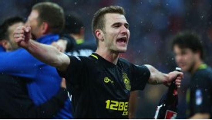 Callum McManaman enjoyed a fine game at Wembley.