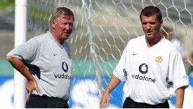 Roy Keane was a key part of the Manchester United side under Sir Alex Ferguson