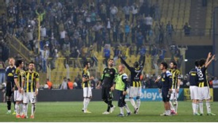 Fenerbahce players and fans are united in their hope of Champions League qualification.