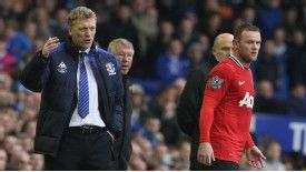 David Moyes says Wayne Rooney's future is at Manchester United.