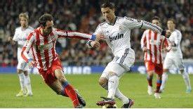 Ronaldo has scored six goals in his last three games against Atletico