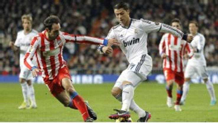 Ronaldo has scored six goals in his last three games against Atletico