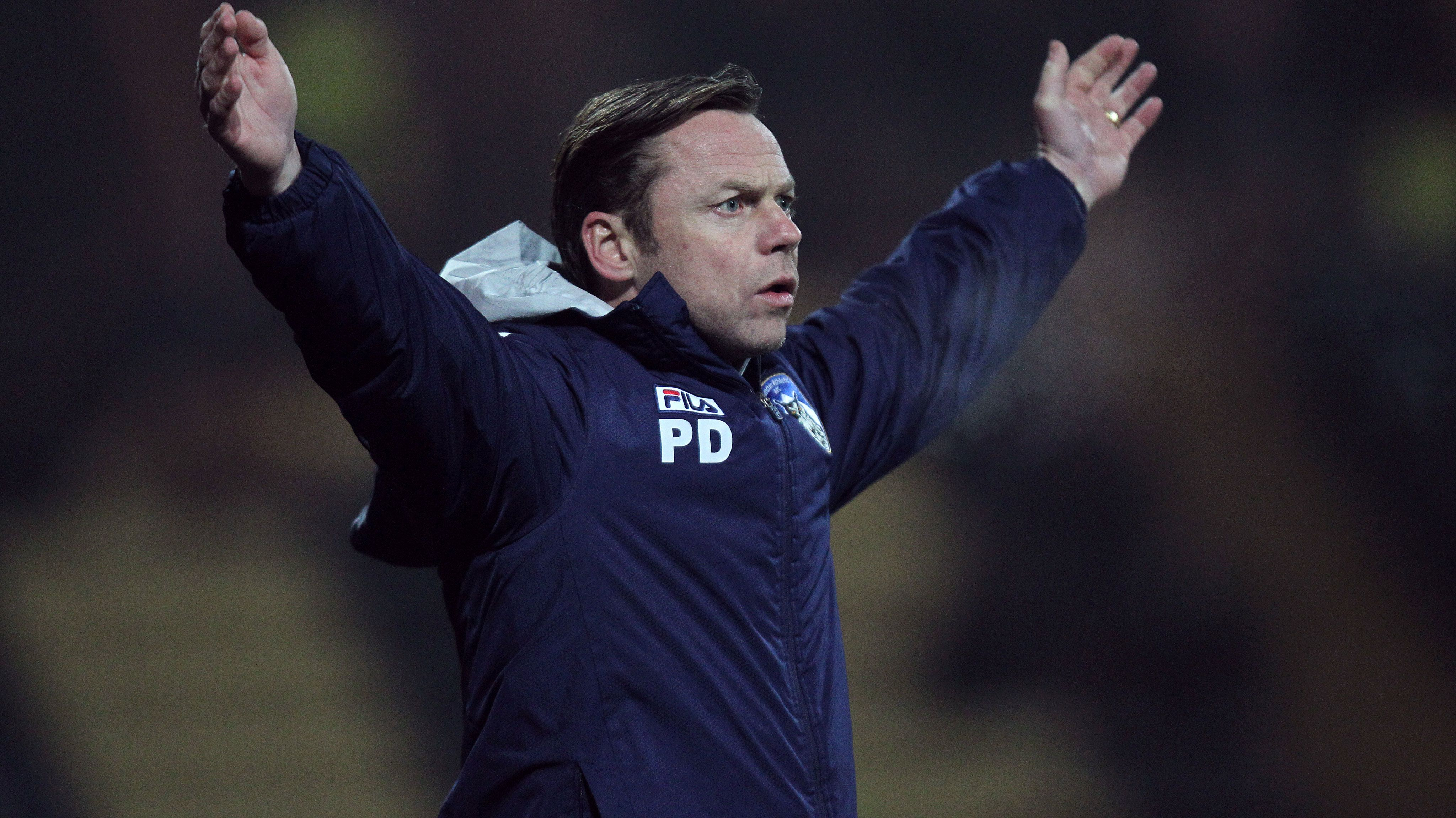 Paul Dickov has been appointed Doncaster manager