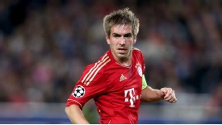 Philipp Lahm is hoping to make it third time lucky in the Champions League final against Borussia Dortmund