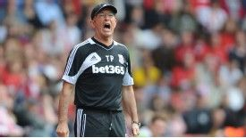 Tony Pulis left Stoke in 2013 after the club's fans grew restless with his style of play