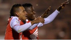 Santa Fe will take a convincing lead back to Colombia