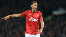 Rio Ferdinand has been a Manchester United player for over a decade