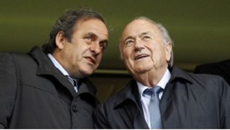 Michel Platini voted for Qatar to host the 2022 World Cup, Sepp Blatter favoured the United States.
