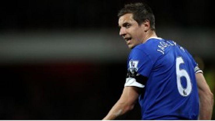 Jagielka has been named permanent captain for Everton next season