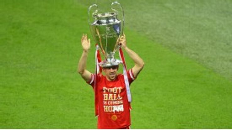 Franck Ribery enjoyed what he said was his best-ever season at Bayern