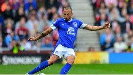 John Heitinga may be part of a summer exodus at Everton