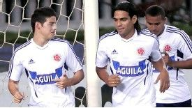 James Rodriguez and Radamel Falcao have been team-mates for Porto and Colombia