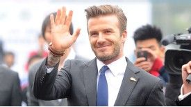 Beckham believes his old club will taste league glory again.