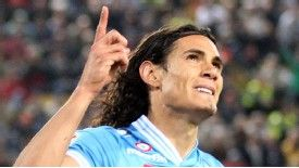 Edinson Cavani is a target for Chelsea and Real Madrid