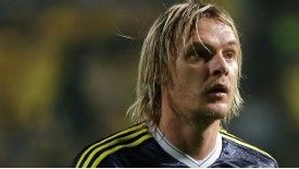 Milos Krasic has become frustrated at a lack of playing time at Fenerbahce