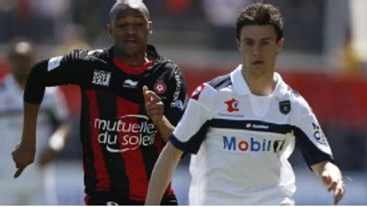 Sebastien Corchia signed for Sochaux from Le Mans in 2011