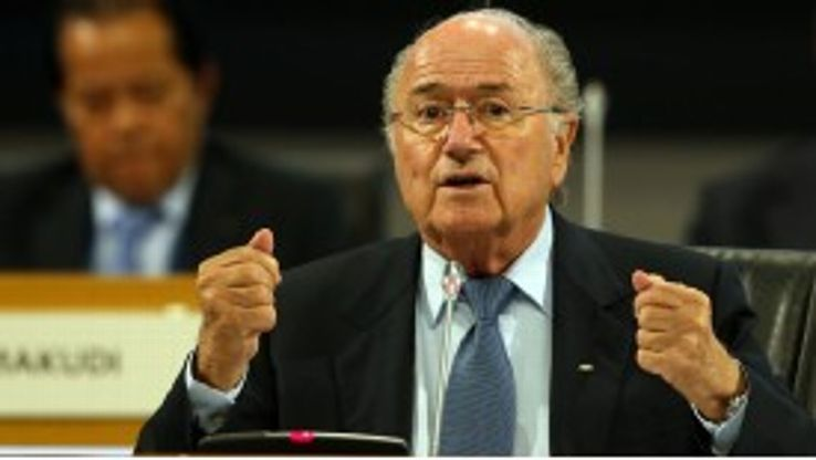 Blatter: Romao has said he will only travel to Libya if the FIFA president does