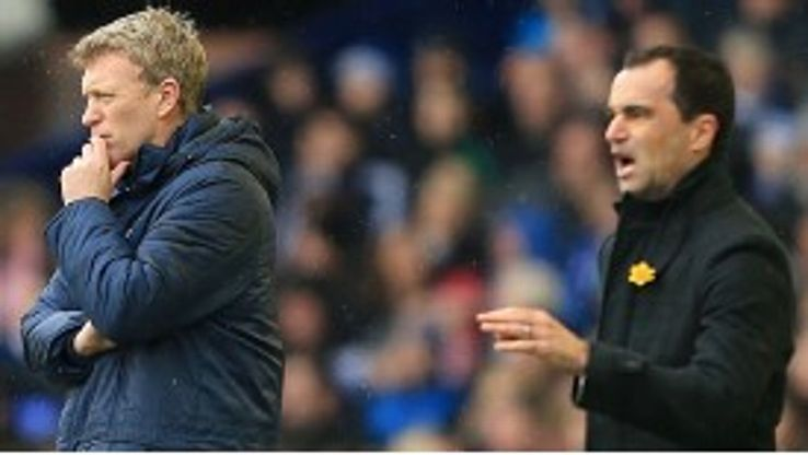 Roberto Martinez is set to take over from David Moyes at Everton