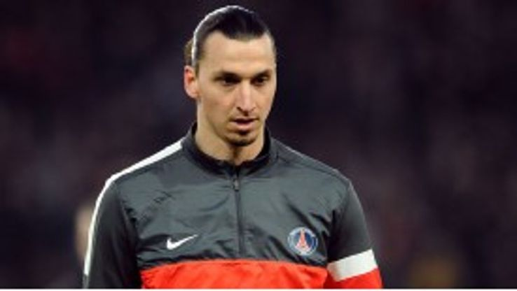 Ibrahimovic scored 30 league goals in his first season in France