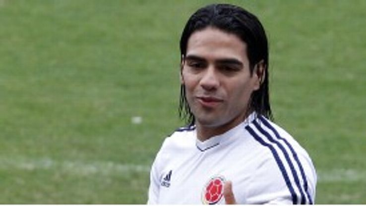Falcao made his debut for Colombia in 2007