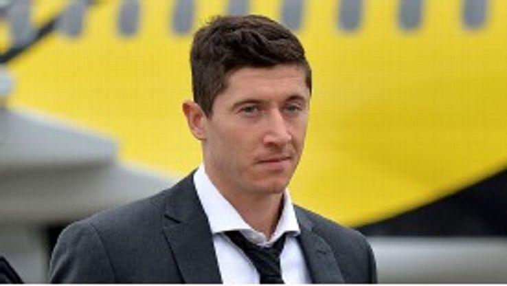 Robert Lewandowski is back at Dortmund - and back on the scoresheet.