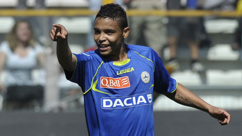 Luis Muriel is highly thought after at Udinese