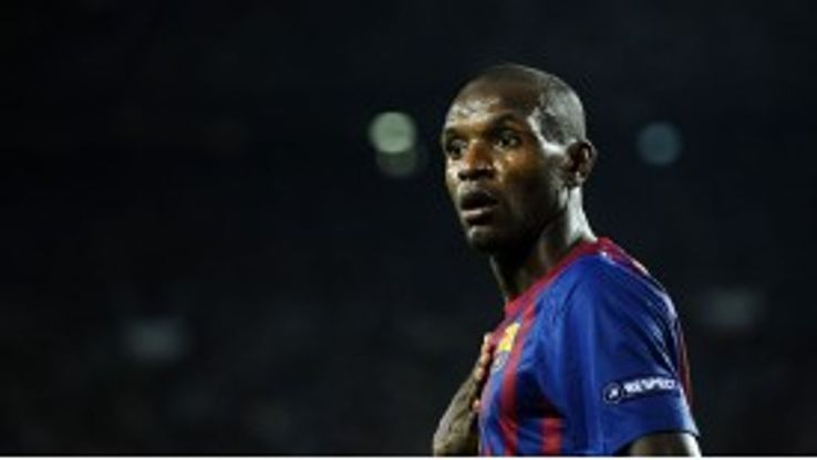 Eric Abidal spent six seasons as a Barcelona player
