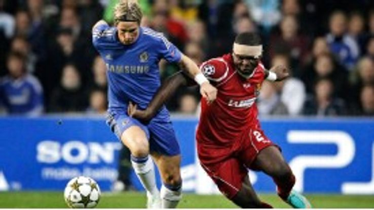 Okore's performances in last season's Champions League have made him a target in England