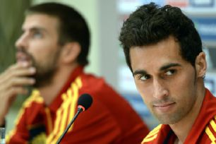 Alvaro Arbeloa answers questions in New York ahead of Spain's friendly with Ireland
