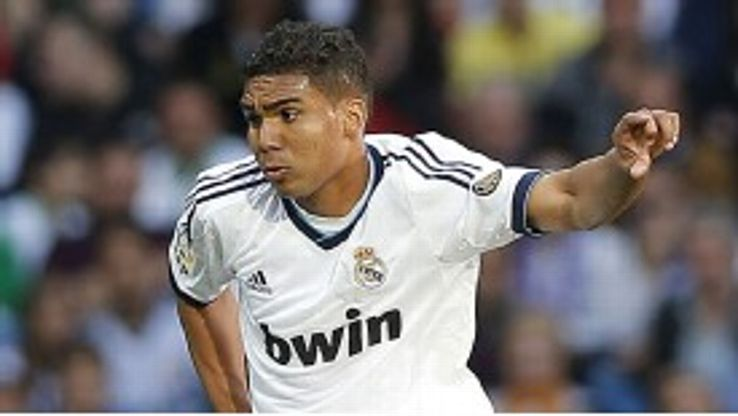 Casemiro played for the Real Madrid senior team against Real Betis in April