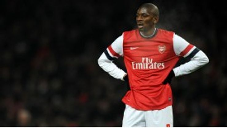 Diaby has only made ten league starts for Arsenal over the past two seasons