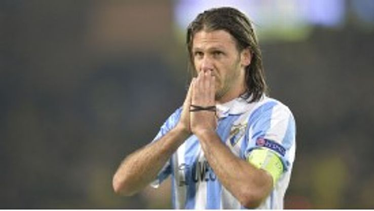 Martin Demichelis is one of Malaga's players who looks set to miss out on European football next season
