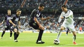 Patrick Ebert keeps tabs on Cristiano Ronaldo
