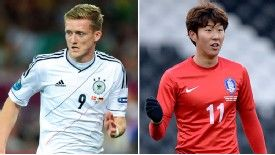 Chelsea's deal for Schurrle (l) hinged on Leverkusen bringing in Son (r) as a replacement