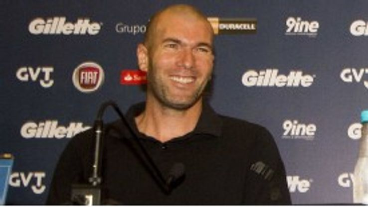 Zinedine Zidane has been touted by some as the next Real Madrid coach