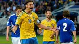 Zlatan Ibrahimovic had plenty to say against the Faroe Islands