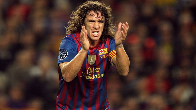 Carles Puyol recently signed a new Barca contract until June 2016
