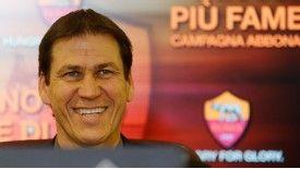 New Roma coach Rudi Garcia is targeting a European spot.