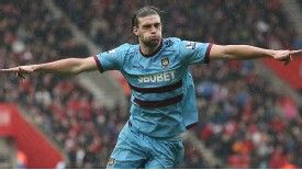 Andy Carroll is back at West Ham United after joining permanently from Liverpool.