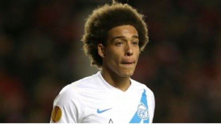 Axel Witsel signed for Zenit from Benfica