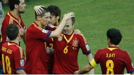 Torres and Silva in line for Spain starts