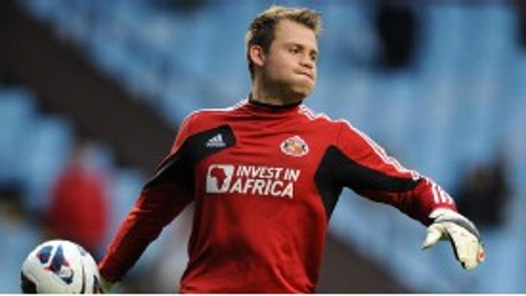 Sunderland goalkeeper Simon Mignolet is set to undergo a medical at Liverpool