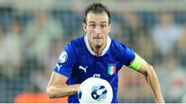 Luca Caldirola has been capped for Italy's Under-21s