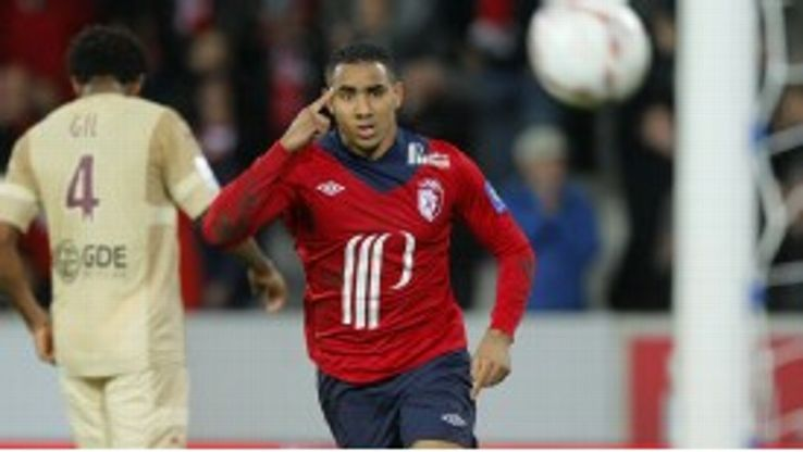 Dimitri Payet joined Lille from Saint-Etienne	in 2011