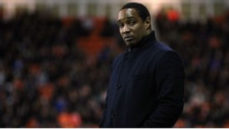 Ince has won just four of his 14 games in charge of Blackpool to date