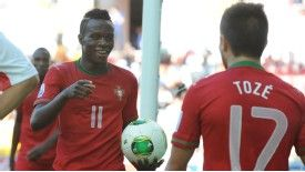 Bruma celebrates after scoring a goal at the Under-20 World Cup