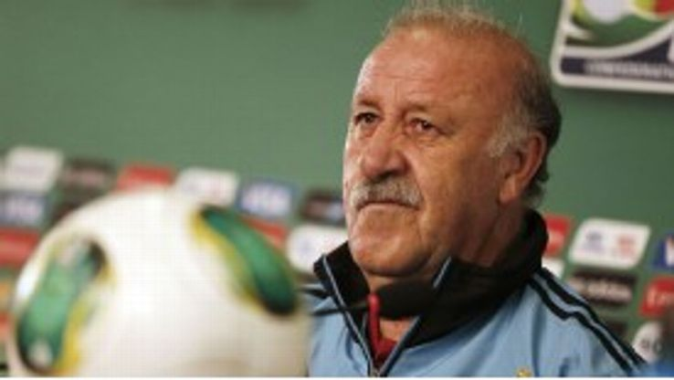 Vicente del Bosque has won a World Cup, a European championship, two Champions League crowns and two league titles as a coach.