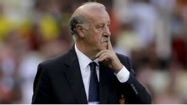 Spain coach Vicente del Bosque has some problems ahead of the World Cup qualifiers.
